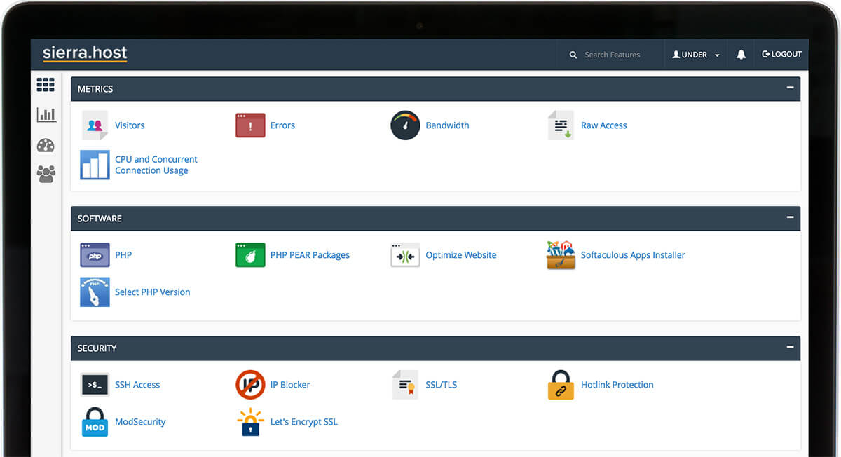 cpanel-screen